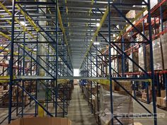 Push Back Pallet Rack Systems are available in either Roll Form or Structural Pallet Rack configurations depending on capacities or preference of the customer. Push Back Pallet Rack Systems are considered last-in/first-out systems (LIFO).