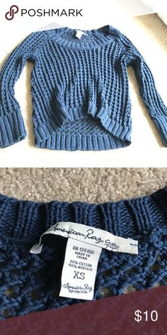 Navy sweater Super cute and flowy for summer Sweaters Crew & Scoop Necks