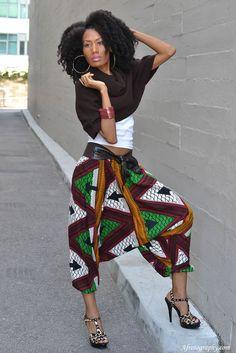 Naturally Fierce Feature: Rhonda, Global Couture blog
