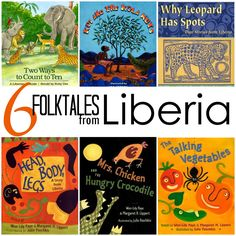 Folktales from Liberia, Africa. Great multicultural books for kids.