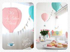 Hot Air Balloon Decoration Tutorial