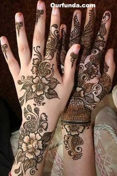 henna designs | Arabian Mehndi Designs: Arabic Bridal Mehndi Design