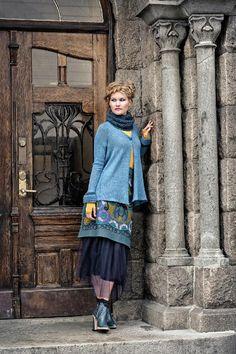 Icelandic Jacket Knitting pattern by Linda Marveng | Knitting Patterns | LoveKnitting