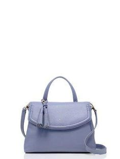 Kate Spade New York Orchard Street Cambria Shoulder Bag In Oyster Blue Mini Purse, Mini Bag, Kate Spade Purse, Cross Body Handbags, Leather Handbags, Purses And Bags, 3 D, Satchel, Crossbody Bags