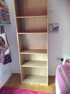 Best Bookshelf Chipboard bookshelf Approx months old Good Condition x cm Shelves