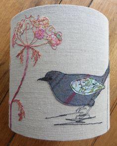 Black bird small lampshade. sold £60