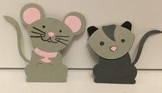 Stampin up - Foxy Friends Maus und Opossum