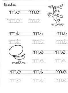 4 Reasons to Learn Handwriting Learn Handwriting, Cursive Handwriting, Pre K Activities, Preschool Learning Activities, Tracing Worksheets, Kindergarten Worksheets, Maternelle Grande Section, Spanish Words, Yoga For Kids