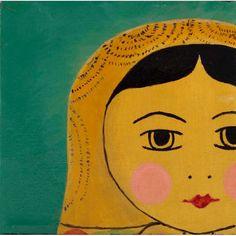 Tiny Face #art #tinyface #painting #emmagardner.art #emmagardnerdesign