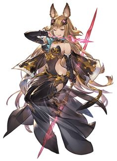 View an image titled 'Metera Art' in our Granblue Fantasy Versus art gallery featuring official character designs, concept art, and promo pictures. Game Character Design, Fantasy Character Design, Character Design References, Character Concept, Character Art, Concept Art, Fantasy Rpg, Fantasy Girl, Fantasy Artwork
