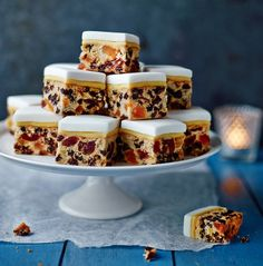 Mary Berry's Christmas cake bites