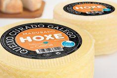 Hoxe Quesos | Etiqueta Queixo Madurado #packaging #koolbrand