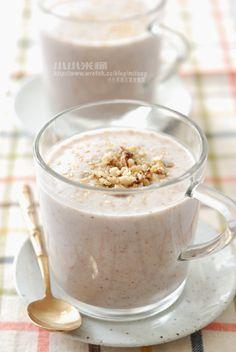 核桃五榖米漿…簡單又好喝喔 | 小小米桶