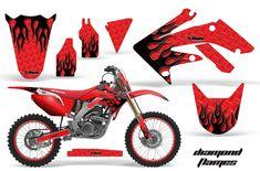 Heavy Duty 2006-2017 Honda CRF150F Chain and Sprocket Kit Black