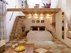 35 Mezzanine-Schlafzimmer-Ideen Bedroom Ideas For Small Rooms Loft MezzanineSchlafzimmerIdeen Mezzanine Bedroom, Bedroom Loft, Dream Bedroom, Bedroom Decor, Kids Bedroom, Loft Mezzanine, High Ceiling Bedroom, Kids Rooms, Attic Bedroom Closets