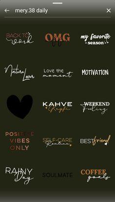 Instagram Words, Instagram Emoji, Feeds Instagram, Iphone Instagram, Creative Instagram Stories, Instagram And Snapchat, Insta Instagram, Instagram Story Template, Instagram Story Ideas