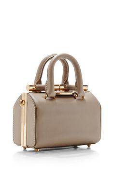 0001320fb23f Tyler Alexandra Jamie Doctor Bag In Small Light Beige by Tyler Alexandra  for Preorder on Moda