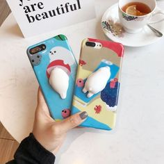 Squishy-Butt-Phone-Cover-3D-silicon-Cartoon-Cute-Soft-Seal-Sea-Lion-iPhone-Cases