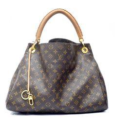 Louis Vuitton Artsy MM Monogram Shoulder Bag