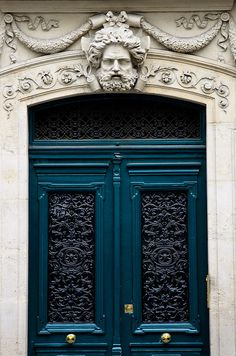 Paris. Every door is different and beautiful! Aah, I miss it so much!