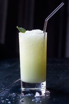 Absinthe Frappé by Saveur. Fresh mint and anise-flavored absinthe combine over crushed ice for a pleasantly refreshing cocktail. This recipe was developed by astrologer/bartender Patricia Clarke Hippolyte especially for Aquarius as part of our Mixstrology series.