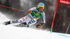 Felix Neureuther beim Riesenslalom in Kranjska Gora (Quelle: dpa)