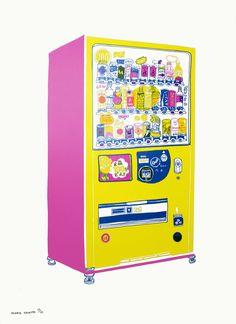 Vending Machine in Kyoto   Print Club London