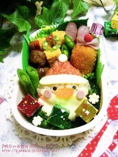クリスマス☆サンタさん弁当|レシピブログ