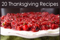 Thanksgiving Recipes from Jamie Cooks It Up!