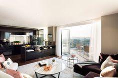Show penthouse living area