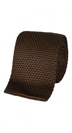 Brown Silk Knit Tie http://www.blacklapel.com/accessories/brown-silk-knit-tie.html?utm_campaign=4-3-2015-accessories-pinterest-board&utm_medium=social&utm_source=pinterest&utm_content=4-3-2015-accessories-brown-silk-knit-tie&utm_term=
