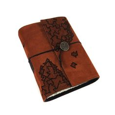 Handmade Leather Book Journal Diary Notebook, Fragments