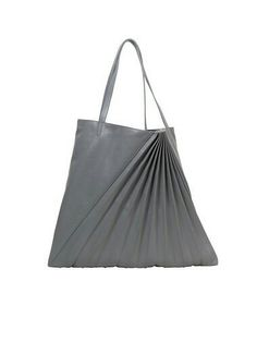 1993f29bde 860100 Grey Leather Chiaroscuro Weekend Tote