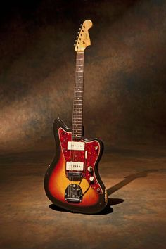 1964 Fender Jazzmaster - Fender's flagship model over the Telecaster and the Stratocaster. The Jazzmaster was made famous by the band The Ventures and is synonymous with surf music out of southern California.