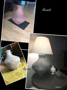 Lampe style industriel DIY Transformer une lampe destinées  la