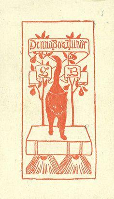 Ex libris Sven Bengtsson by Stifts- och landsbiblioteket i Skara, via Flickr