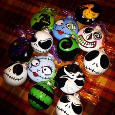 Nightmare before christmas ornaments nightmare pinterest nightmare before christmas birthday decorations google search halloween christmasdiy solutioingenieria Gallery