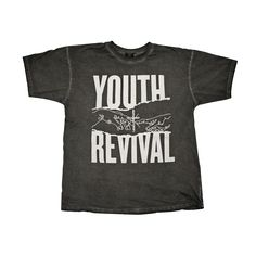 Y&F Black T-Shirt - Youth Revival - Hillsong Store USA