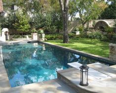 diving board outdoor pool flush with cement - Google Search