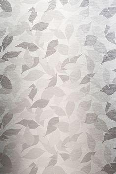 Patterned stainless steel - pattern designed by Finnish designer Harri Koskinen  #stalatex #naturepattern #stainlesssteel #lehtikuvio #harrikoskinen