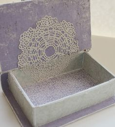Tattered Treasures: Lavender and Lace for Frilly and Funkie!