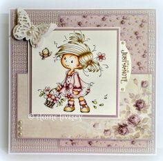 A Technophobes Blog: Wee Stamps ~ Peggy.