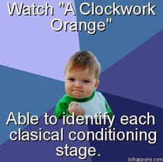 psychology humor...have to point out that classical is misspelled....LOL