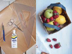 DIY basket Basket, Apple, Fruit, Diy, Food, Apple Fruit, Bricolage, Essen, Do It Yourself