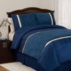 Lush Decor Animal Plush Comforter Set in Royal Blue - bedroom? Full Size Comforter Sets, Bedding Sets, Cozy Bedroom, Bedroom Decor, Bedroom Ideas, Royal Blue Bedrooms, Cool Beds, Comforters, Plush