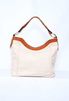 Large Tote with Braided Details