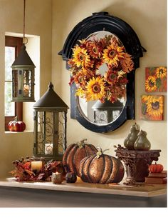 Seasonal Splendor!- warm up your home with the colors of fall