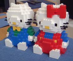 Hello Kitty and friend: A LEGO® creation by Bernard Obes : MOCpages.com
