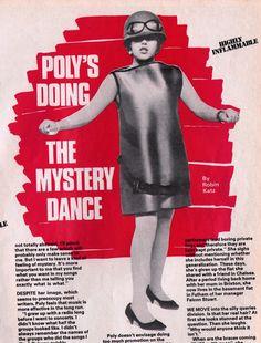 X-Ray Spex: Poly Styrene, Smash Hits, 1979