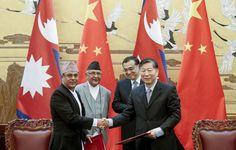 नेपाल र चीनबीच १० बुँदे समझदारी पत्रमा हस्ताक्षर गरियो